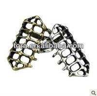 punk articular bone carving rings