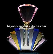 カラフルなクリスタルの香水瓶、 虹水晶smallware