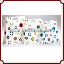2013 fashion art paper tote bag