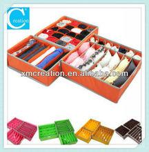foldable compartments bra storage bag