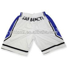 sublimated fashion custom logo basketball short