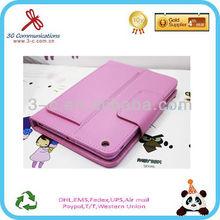 For iPad mini wireless bluetooth keyboard leather case