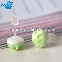 Ceramic Accessory/Fashion Ear Stud Accesssory/ Unique Earring Jewelry