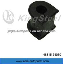 front rubber stabilizer bush for Japanese car TOYOTA CAMRY HARRIER LEXUS MARK 48815-33060