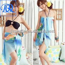 custom design printing Chiffon beach sarong