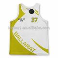 personalizado sublimación sleevesless baloncesto vestido de marca