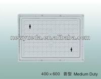 fiber glass composite manhole cover size