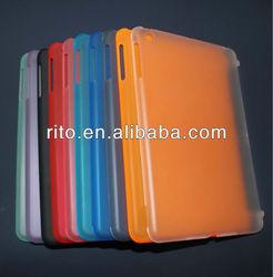 Rubberized Matte Hard Protect Cover Case for Mini iPad Mini, OEM/ODM Welcome