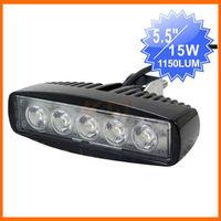 """5.5"""" 15W led mini bar Auto light of LED working light ATV UTV moto bike"""