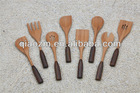 Bamboo Cooking Tools with Pakka Wood Handle