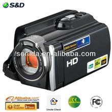 2013 Hot Sale! 720P 12MP Interpolation 3.0 TFT LCD Display full spectrum video camera HDV-603P