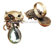 fashion copper plated ring 2013 design