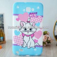 new cute cartoon cat case lovely tpu hard skin cover for Samsung Galaxy Note i9220 N7000