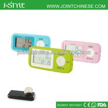 Multifunction Pocket Pedometer 14 Days Memory