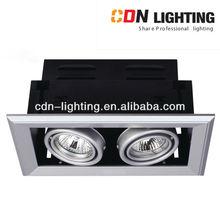 halogen 12V MR16 50W recessed multiple light