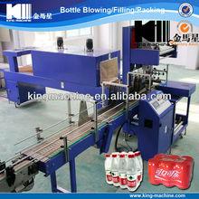 Full automatic shrink film packing machine/equipments