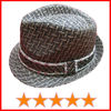 Mens summer fedora straw hats (SU-SH7449)