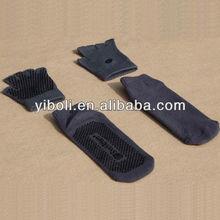 Yoga socks hot sale style yogas black pvc dots yoga socks and gloves balance toe socks sports stocking