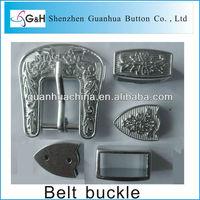 3PCS western belt buckle