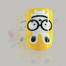 Lovely Mr. rabbit konad nail art design pictures