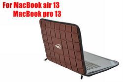 Croco Chocolate design neoprene EVA laptop case for macbook air/ laptop bags/laptop sleeve