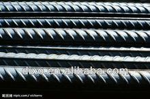 construction material list deformed iron/steel bar