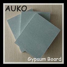 Decorative 9mm Waterproof Reinforced Fiberglass Plasterboard / Drywall