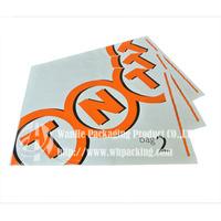 TNT courier packaging bag plastic film envelope for mailing