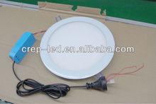 11w round panel, 170mm trim size, 160 hole size led thin downlight