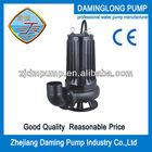 WQ/QG submersible sewage water pump for sludge living water