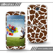 free sample mobile phone accessory decal for samsung s4