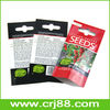 QS/FDA Food Level Food Packaging Paper Bags for Seeds