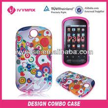 custom design celulares curve for LG P350 cell phone case