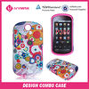 custom design celulares curve for LG P350 cell phone case