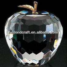 wedding crystal gift,crystal apple