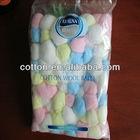 color cotton balls100pcs