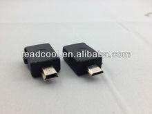 Unique design mini 5pin to micro 5pin usb connector