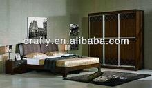 Fabric head board bedrom furniture