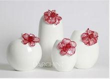 Ceramin new design home deco , Ceramic, White ceramic decoration