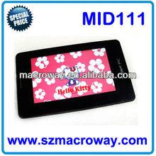 MID111: 7 inch A10 + 1GB /8GB + HDMI + IPS HD Display (1024x600 pixels); Dual camera + Ultra slim skype tablet pc download