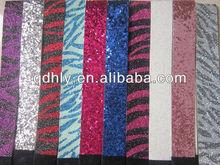 Printed Glitter Elastic for Hair Ties