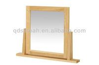 Oak Wood Frame Dressing Table Mirror (CO8119)