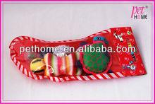 2013 christmas stocking funny cat toy set