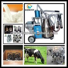 2013 Farm used single tank dairy cow milking machine