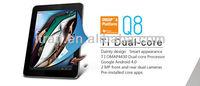 SmartQ Q8 8 inch IPS 1024x768Pixels Capacitive Multi-Touch Screen,TI OMAP4430 Cortex-A9 Dual Core Talbet