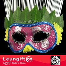 Italian venetian tope grade handmade petal mask