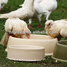 2015 eco friendly bamboo fiber dog feeder/pet bowl/pet pot