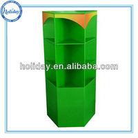 Paper Shelf Holder for fruit shop display