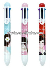 cartoon printing plastic pen for children