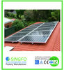 High efficency 4000W solar energy system price, 4KW solar panel system for home